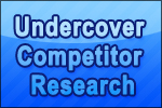 Undercover Competitor Research