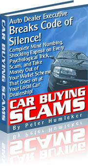 Car Buying Scams Auto Dealer Executive Breaks Code Of Silence